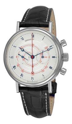 Breguet Men's Classique Chronograph Manual Wind White Gold Watch 5247BB/12/9V6 - http://tourbillonwatches.biz/product/breguet-mens-classique-chronograph-manual-wind-white-gold-watch-5247bb129v6