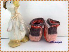 Babyschuhe für Minis von Hexenpott auf DaWanda.com