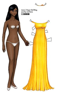 Liana's Paper Doll Blog » dolls