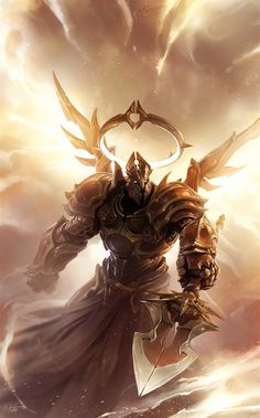 Video Game Art: Imperius - Storm of Light - Digital, Fantasy, VideogamesCoolvibe – Digital Art Armor Concept, Concept Art, Imperius Diablo, Character Art, Character Design, Laurel, Armadura Medieval, Angel Warrior, Ange Demon