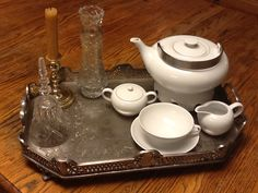 My tea tray