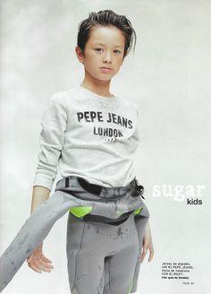 Brandon de Sugar Kids para Telva Niños