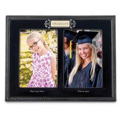 Graduation Double 4x6 Photo Frame