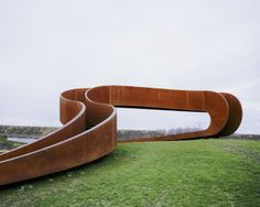 7 the elastic perspective mobius strip inspired staircase near rotterdam by next architects Möbius Strip inspired Staircase near Rotterdam b...