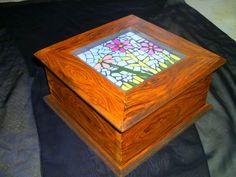 caja madera mosaico - Buscar con Google