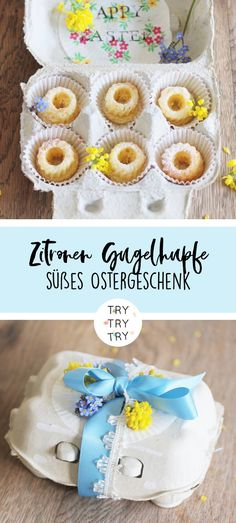 The classic perfect for Easter: lemon cake - TRY TRY TRY diy & food Der Klassiker perfekt für Ostern: Zitronenkuchen The classic perfect for Easter: lemon cake Easter Specials, Cupcakes, Food Cakes, Cake Mold, Food Gifts, Diy Gifts, Easter Recipes, Coffee Cake, Diy Food