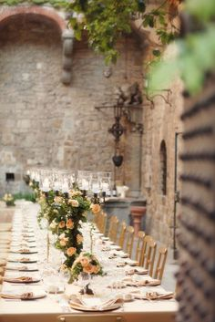 The chairs, the decor, the bricks, the vines. This can't get any better!