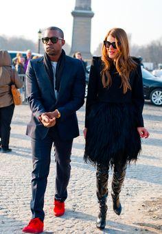 Kanye West & Anna Dello Russo