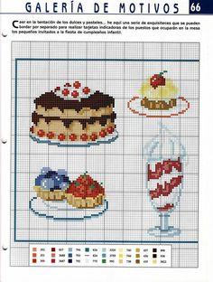 Cross stitch *<3* Point de croix Kitchen