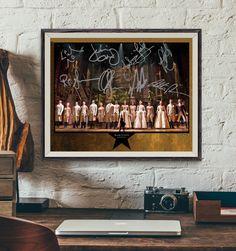 HAMILTON Original Broadway Cast Signed Collectible Autograph Reprint  ============= FEATURING ============= Alexander Hamilton ... Lin-Manuel