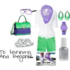 """""""Buzz Lightyear"""" by favourite-fictional-fashions on Polyvore"""