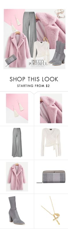 """""""Pretty powerful"""" by fishshow ❤ liked on Polyvore featuring Alexander McQueen, Topshop, Joules and Dolce Vita"""