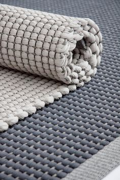 Handmade cotton #rug DUETTO4 by Hanna Korvela Design