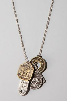 Fun wear....Many Coin Necklace #UrbanOutfitters
