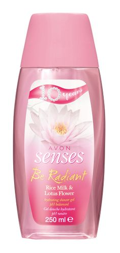 Avon Senses Be Radiant suihkugeeli juhlaerä | shower gel anniversary edition