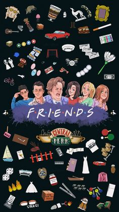 How To Throw A Friends Themed Party In 8 Easy Steps – Teacups and Glitter Tv: Friends, Friends Cast, Friends Episodes, Friends Moments, Friends Series, Friends Forever, Friends Tv Quotes, Wallpaper Sky, Vintage Wallpaper