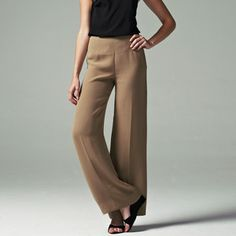 '90s Caramel Pants now featured on Fab.