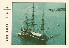 """U.S.S Constitution """"Old Ironsides"""", USA"""