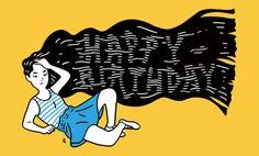 "I drew the illustration for Taku Sakaguchi's project""Happy Birthday to All"".Happy Birthday to AllTaku Sakaguchi"