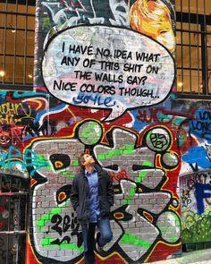 Melbourne problems  #senseofhumor #melbournelife #streetart #mural #graffiti #funny #colors #spraypaint #wanderlust #melbourne #wtf #wallart #streetlife #travel #art #explore #mywherever #australia #travelgram #australianstyle #australianproblems by doctorwithoutborders