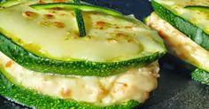 Sandwich de calabacín,cocina radicional.
