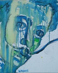 Salvador Dali, Acryl auf Leinwand Salvador Dali, Portraits, Painting, Canvas, Head Shots, Painting Art, Paintings, Paint, Draw