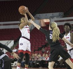 It was a tight game coming down the stretch, but the Georgia women's basketball team was able to outlast Texas A&M 69-59 on Thursday night in Stegeman Coliseum.