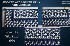 Hooked and Locked CAL – Part 2 – The crosses The Row, Periodic Table, Free, Mosaics, Periotic Table