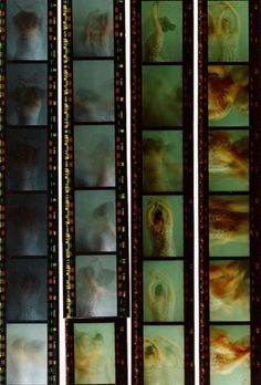 contact sheet by Emily Siân Hart Aesthetic Art, Aesthetic Pictures, Cafe V, John Batho, Photographie Portrait Inspiration, Retro Poster, Alfred Stieglitz, Psychedelic Art, New Wall