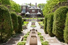 The Inn at Irwin Gardens--Our Columbus, Indiana wedding location!