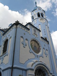 Church Of St. Elisabeth, 1907-08, Bratislava, Slovakia