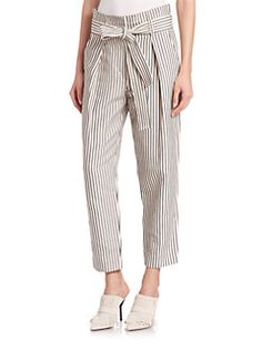 3.1 Phillip Lim - Striped Paperbag Trousers