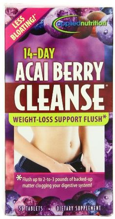 Applied Nutrition 14-day Acai Berry Cleanse 56-Count Bottle - http://bhealthydiet.com/applied-nutrition-14-day-acai-berry-cleanse-56-count-bottle/