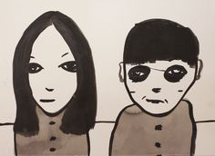 Untitled 34, 2014 by Noah Taylor SOLD Ink on Paper Signed Original 76cm x 56cm - See more at: http://www.lawrencealkingallery.com/artists/noah-taylor/work/untitled-34-2014#sthash.bdMT06I0.dpuf