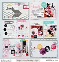Project Life ⎪ Week 6 *Elle's Studio* #scrapbook #projectlife