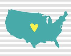 FREE i love my state printables