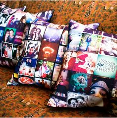 stitchagram! pillows with your #instagram photos #gifts