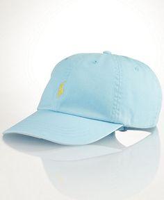 Polo Ralph Lauren Hat, Classic Cotton Sports Hat - Hats, Caps  Scarves - Men - Macy's