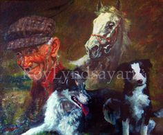 The work of Irish artist Roy Lyndsay including equestrian, landscape and nature paintings Irish Art, Nature Paintings, Ireland, Original Paintings, Horses, Landscape, Dogs, Artist, Character