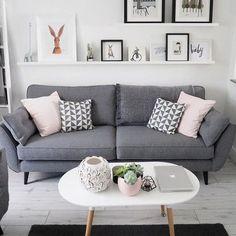 Le canapé gris perle, véritablement indémodable! - IDEO