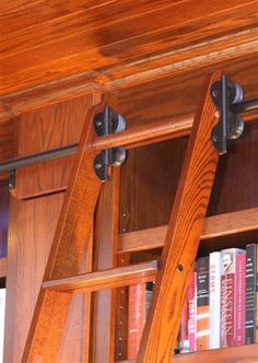 CSH now has rolling #library ladder kits! http://www.cshardware.com/rolling-library-ladder