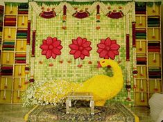 5 Indian Decor designs with *stunningly* extreme detailing! Wedding Stage Backdrop, Wedding Stage Design, Marriage Decoration, Wedding Decorations On A Budget, Wedding Mandap, Wedding Ideas, Wedding Designs, Wedding Ceremony, Reception