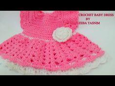 Crochet baby dress pattern free easy ~ Crochet Free Patterns