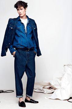 Balmain Menswear - jean jacket!