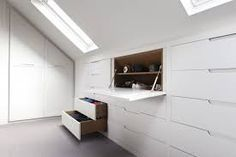Image result for alcoves attic use of storage