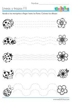 Fiches graphisme, tracer lignes.