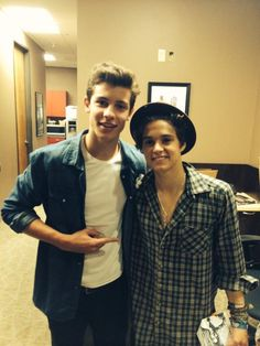 Shawn Mendes and Brad <3
