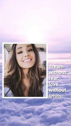 Wallpaper Lockscreen Ariana Grande