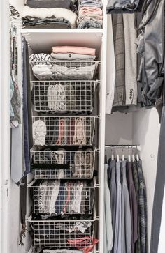 classic practical home decoration bathroom storage design and ideas 31 Wardrobe Organisation, Dorm Room Organization, Cute Room Decor, Aesthetic Room Decor, Room Goals, Storage Design, Storage Ideas, Dream Rooms, House Rooms