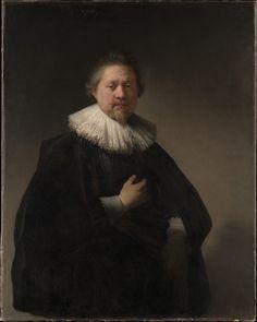 Portrait of a Man, probably a Member of the Van Beresteyn Family Rembrandt (Rembrandt van Rijn) (Dutch, Leiden 1606–1669 Amsterdam) Date: 1632